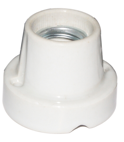 CS007-1  ceramics socket / straight orientation